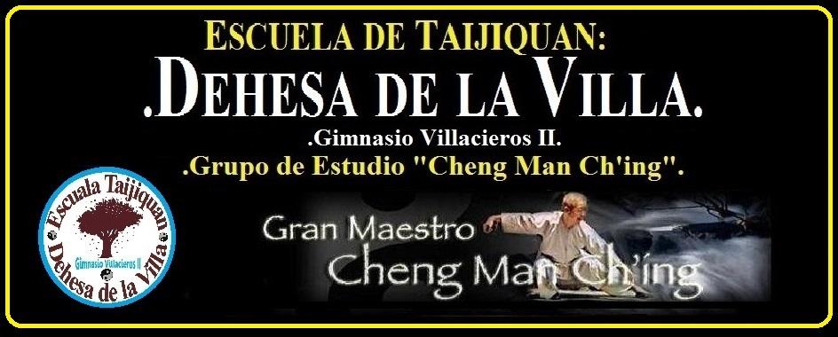 "Escuela de Taijiquan Dehesa de la Villa. ""Grupo de Estudio Cheng Man Ch'ing"""