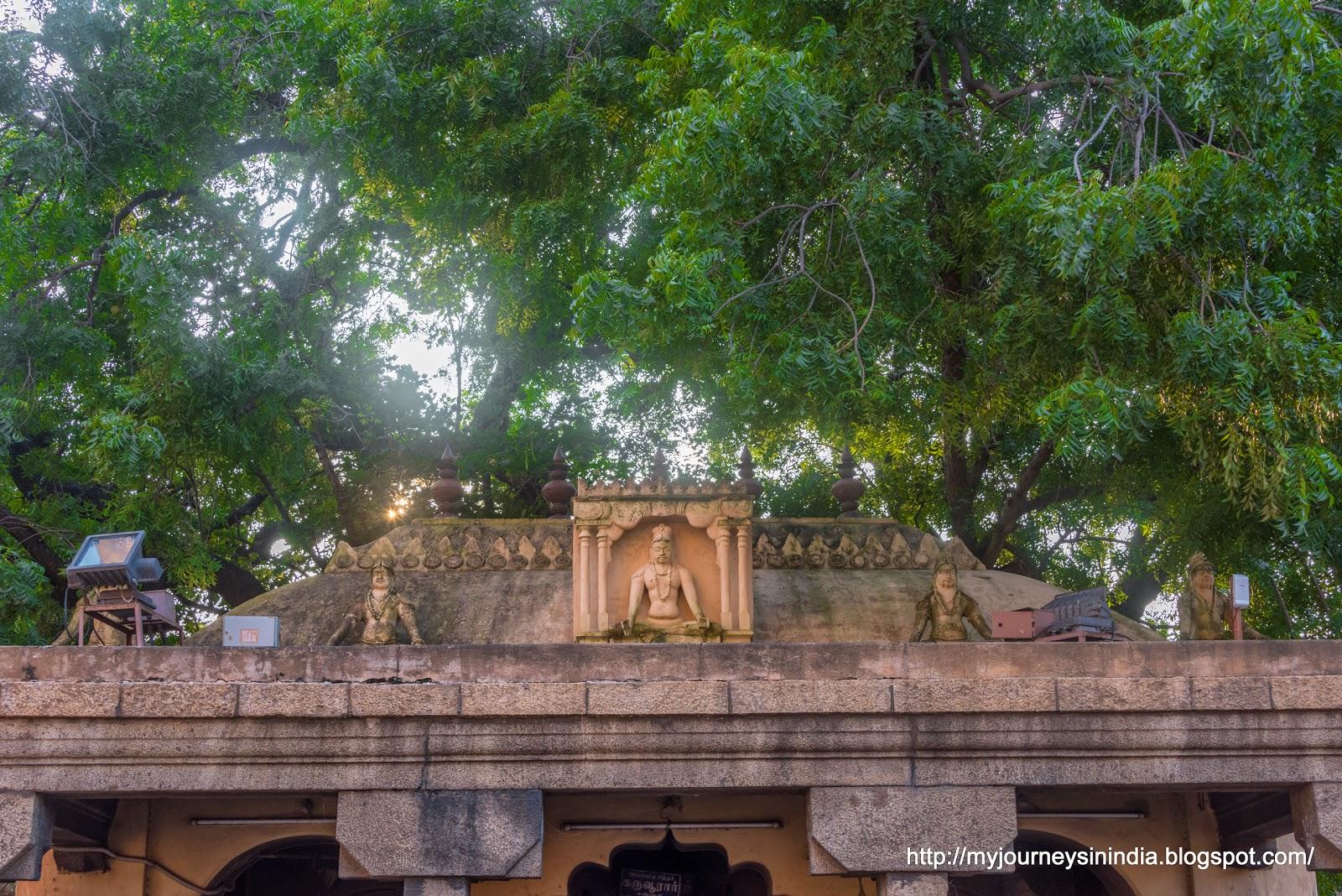 Thanjavur Brihadeeswarar Temple Karuvur Siddar