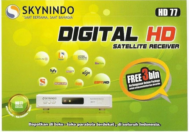 receiver skynindo HD77