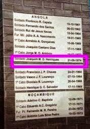 JOAQUIM HENRIQUES, DE ZALALA, FALECEU HÁ 40 ANOS!