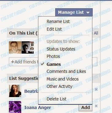 how to delete all farmville posts