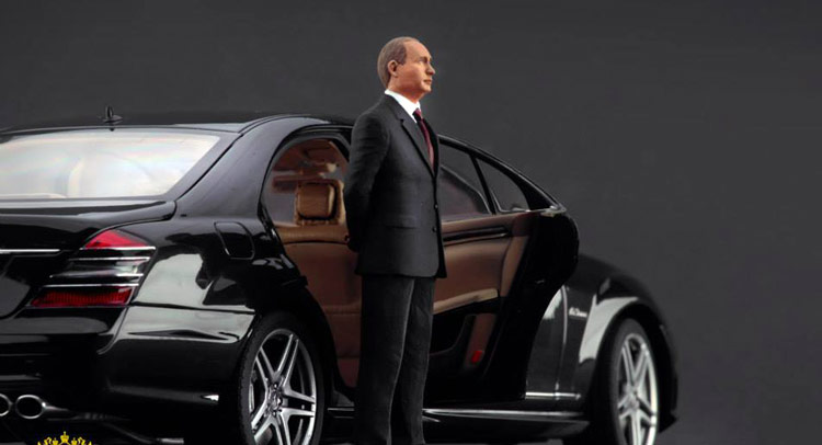 You Can Now Get A Vladimir Putin Scale Figure For Your Diecast Collection