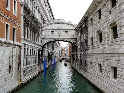 Ponte dei Sospiri (Sukkenes Bro), Venedig