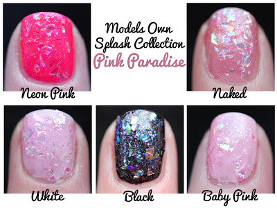 Models Own Splash Pink Paradise