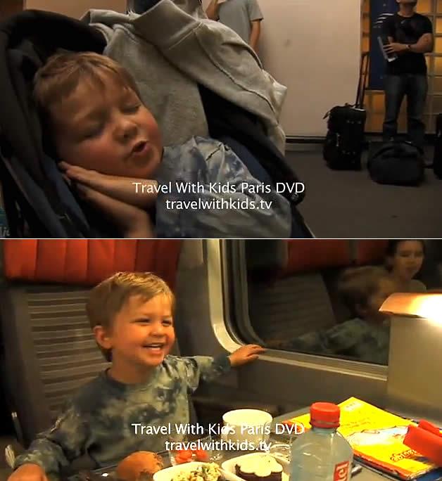 Londres para Paris com crianças no Eurostar