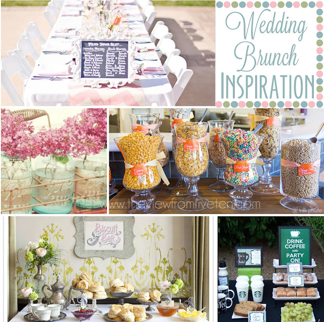 #wedding brunch ideas