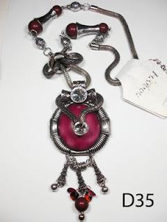 kalung aksesoris wanita d35