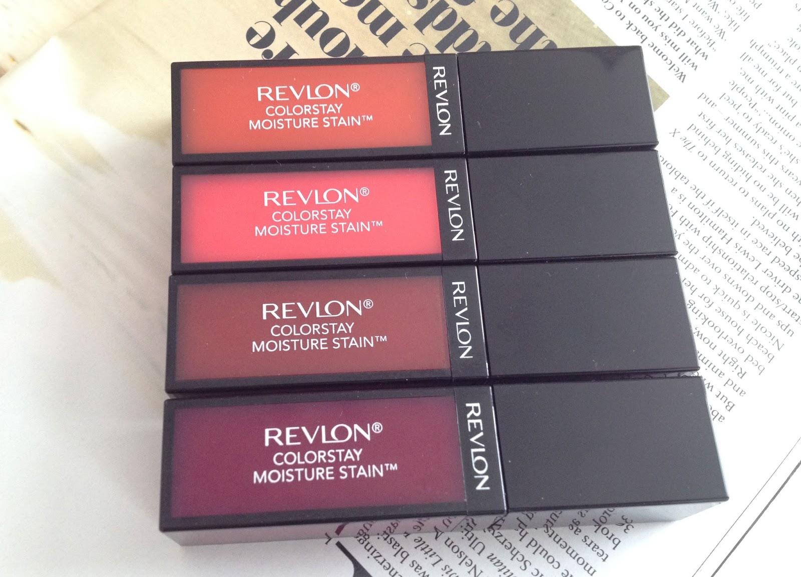 Revlon Colorstay Moisture Stains