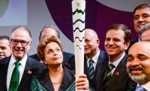 Río ya tiene antorcha olímpica