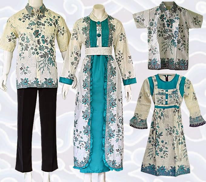 Jual Baju Batik Muslim Modern Model Terbaru