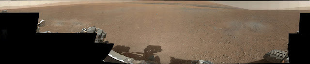 Mars panoramic image