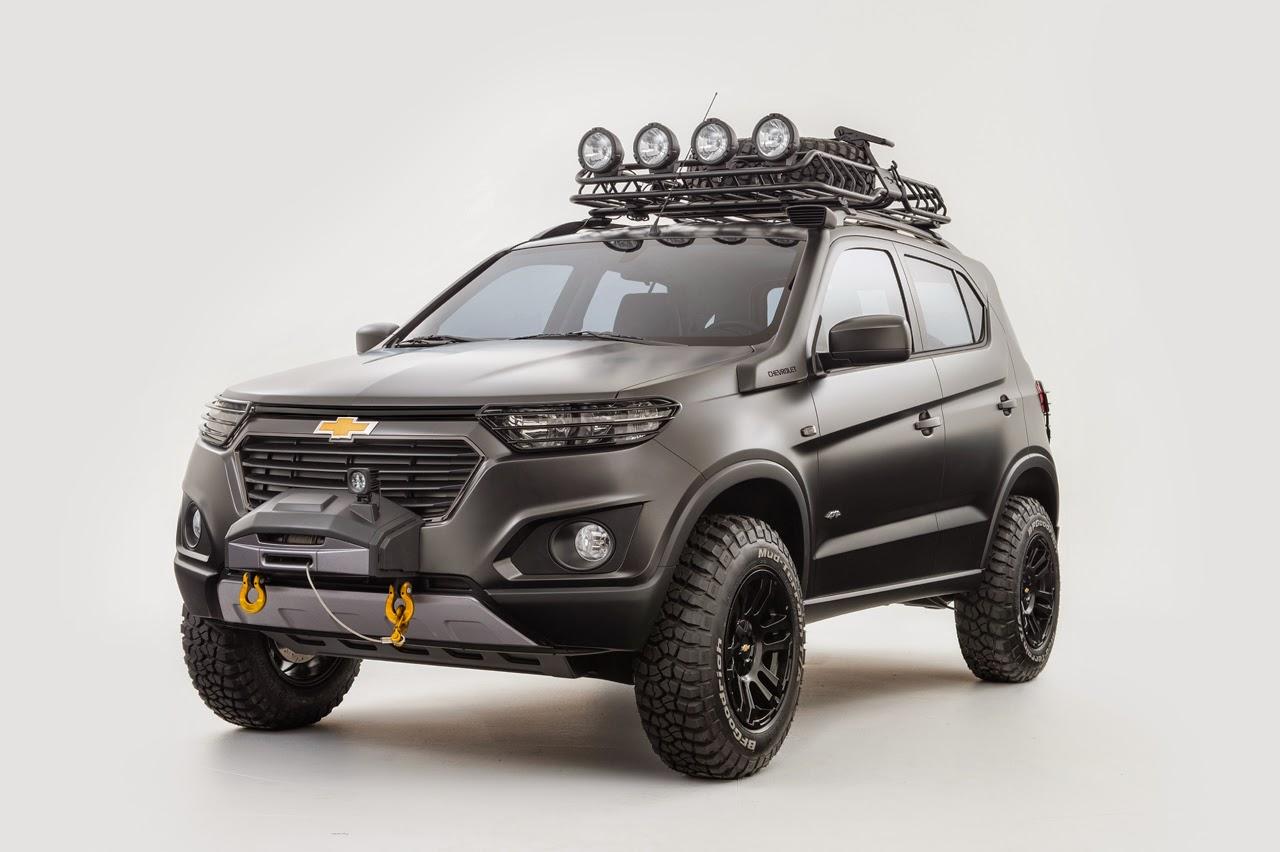 Chevrolet Niva Front