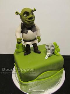 cake disney shrek