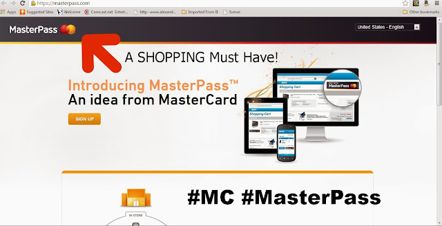 #MasterPass #MC MasterCard MasterPass