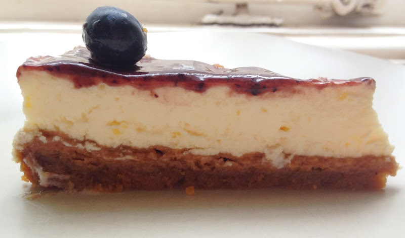 Guilt-Free Blueberry Cheesecake - Made With Quark title=