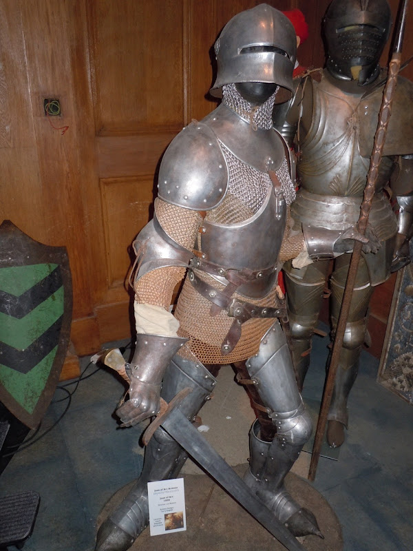 Joan of Arc movie armour