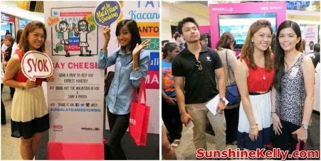merdeka 2013, Astro, Your Malaysian is Showing, Go Beyond, Positive Engine, Event, Mid Valley megamall, sunshine kelly, shah, janice yeap