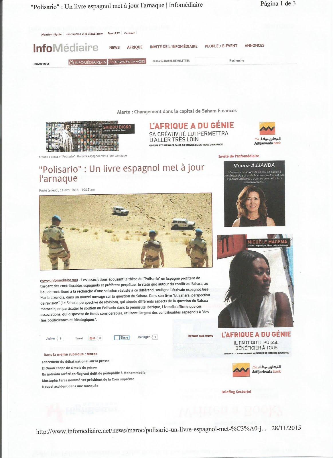 InfoMediaire News Afrique