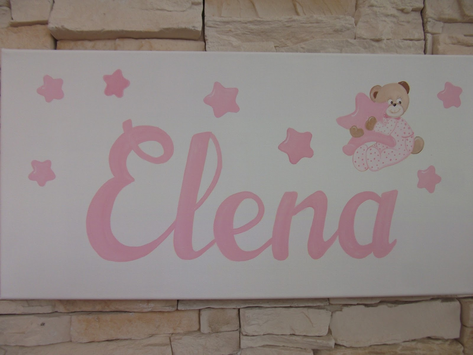 Decoraci n infantil pekerines osita con estrellas - Estrellas decoracion infantil ...