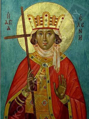 En La Imagen Santa Elena Madre del Emperador Costantino