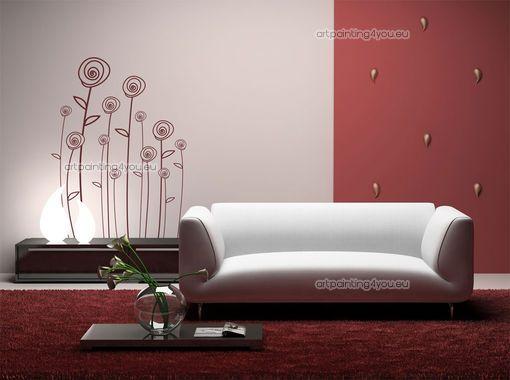 Un vinilo exquisito para una sala moderna 1 en decoracion for Sala vinilo