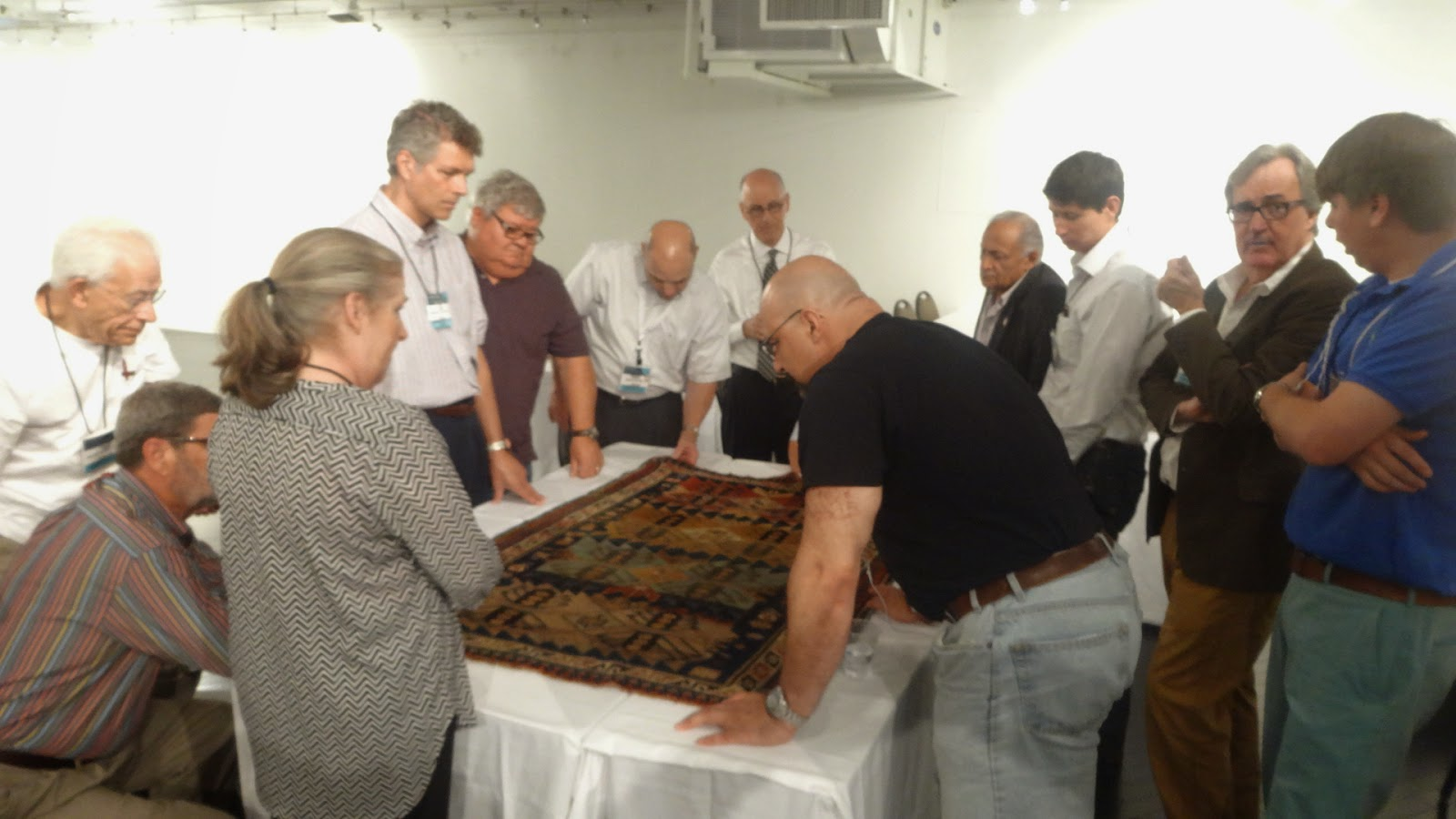 There Was An Expert Rug Id Panel Session On The 4th Floor In Oriental Retailers Of America