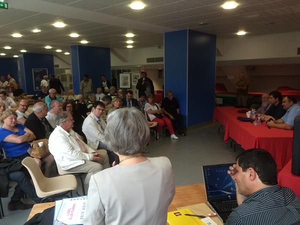 La réunion du 15 aout à Saint-Quentin avec les représentants de la Fédération Française des Échecs © Chess & Strategy