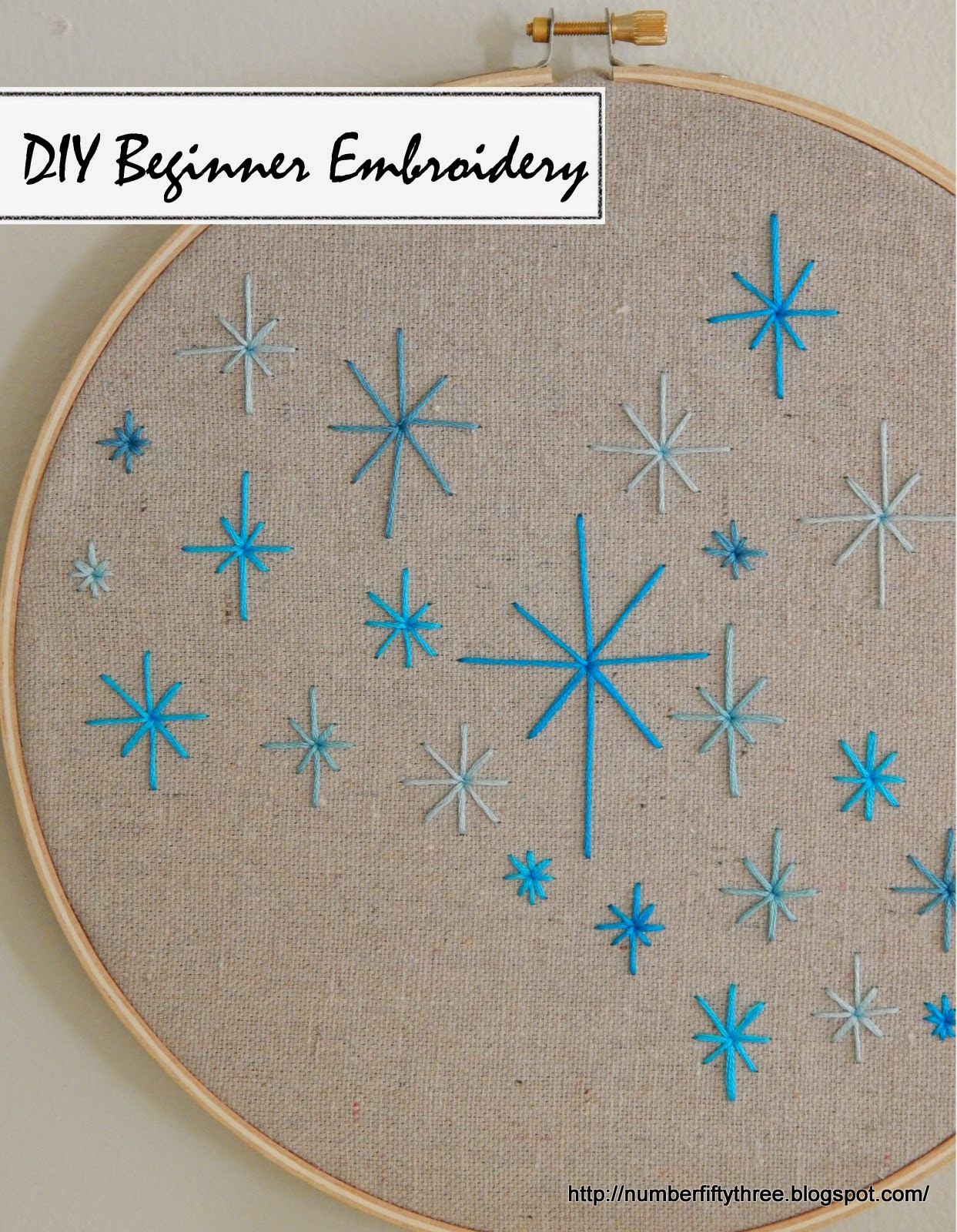 Diy beginner embroidery jennifer rizzo