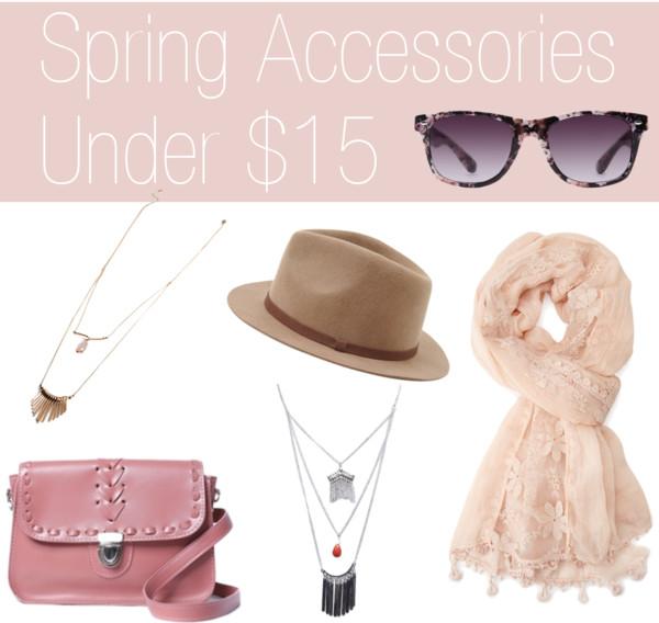 Spring Accessories Under $15