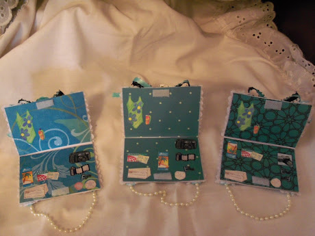 Tropical atc card purse/suitcase