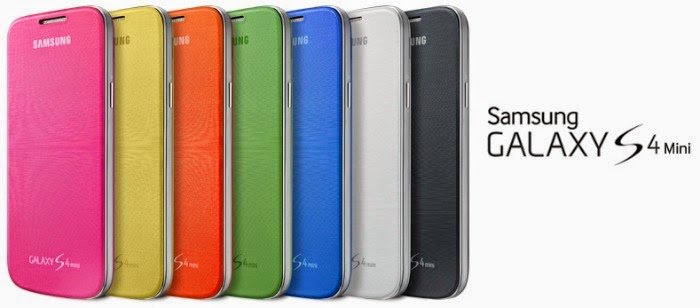 Samsung Galaxy S4 mini colors