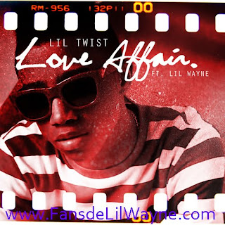 Imagen oficial del single Love Affair de Lil Twist con Lil Wayne. Esta cancion vendra en el primer disco en solitario de Lil Twist, Don't Get It Twisted el cual saldra a la venta el 21 de Junio