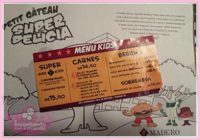 Balneário de Camboriú restaurante Madero