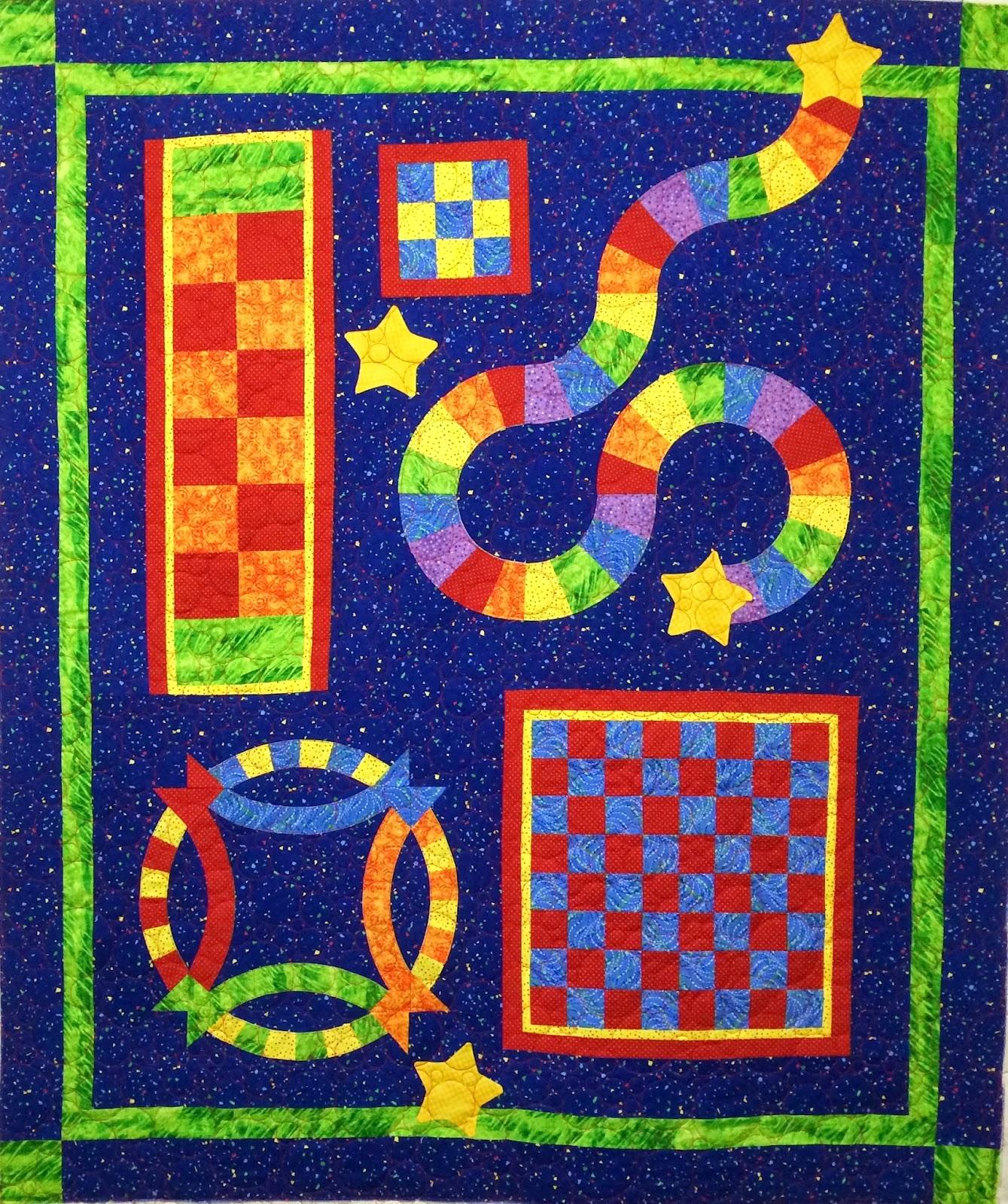 Leanne Strum Puzzle Quilt