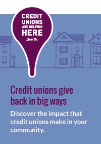 Credit Unions are Helping Here!