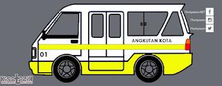 Trayek dan Info Angkot 01 di Tasikmalaya | Kisatasik