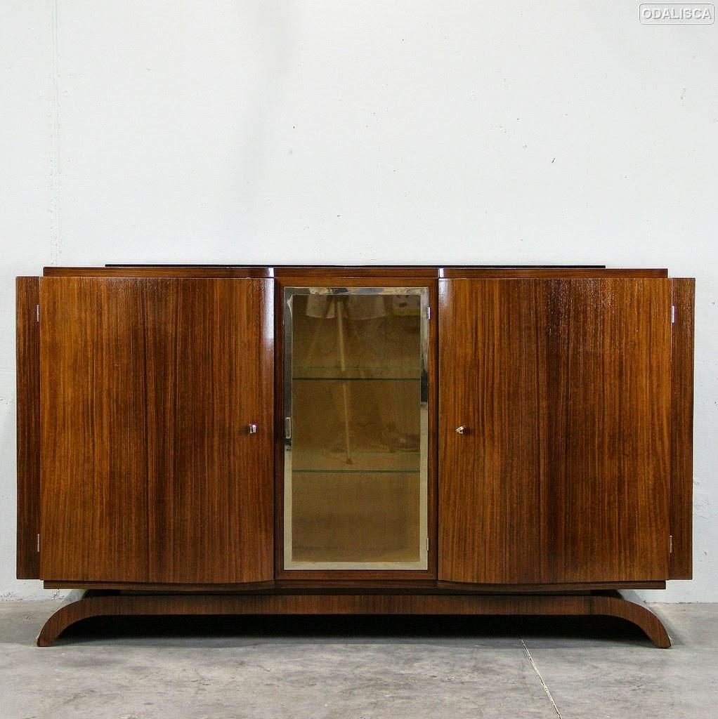 Odalisca madrid art nouveau art deco dise o del siglo xx vintage aparador art d co - Aparador art deco ...