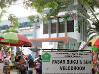 Jelajah Pasar Minggu dan Pasar Buku Velodroom Kota Malang