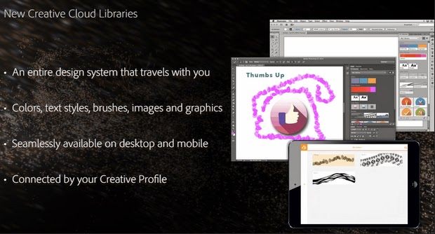 New Creative Cloud Libraries