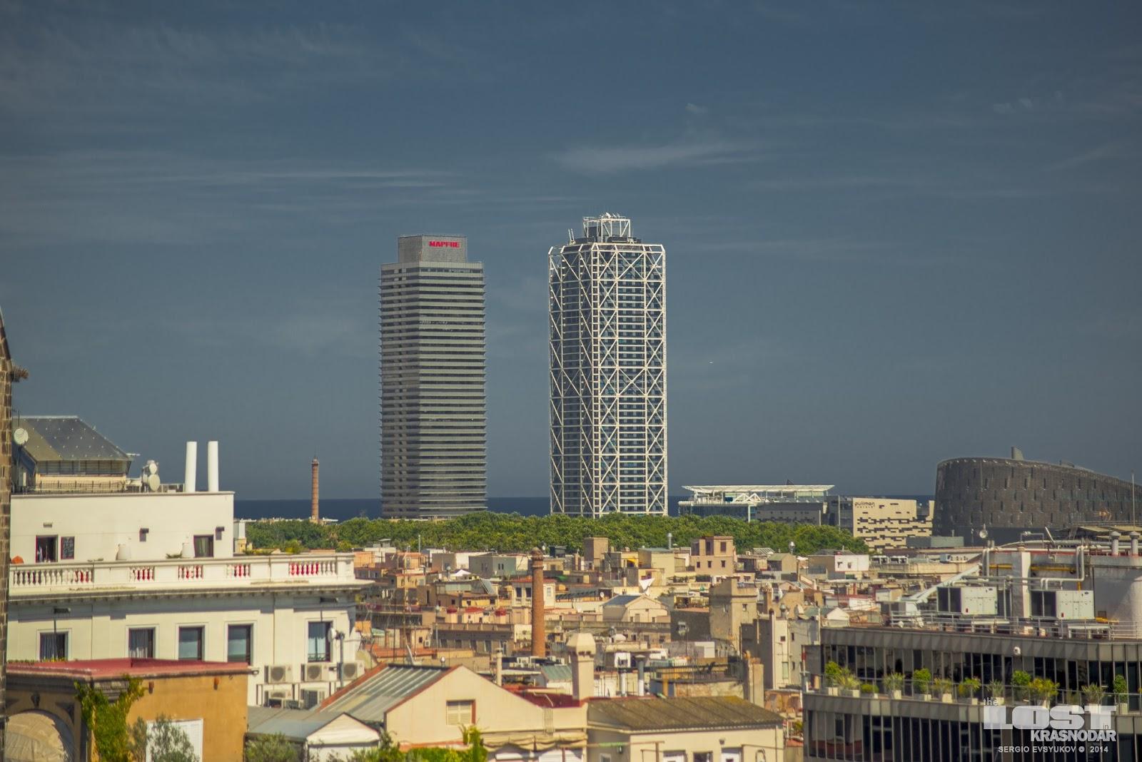 Небоскребы Барселоны