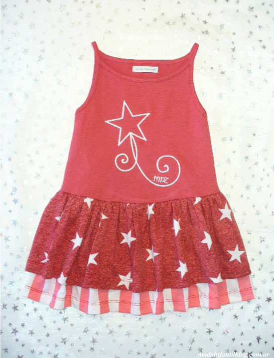 vestidos para nenas mundo pequeñez 2014