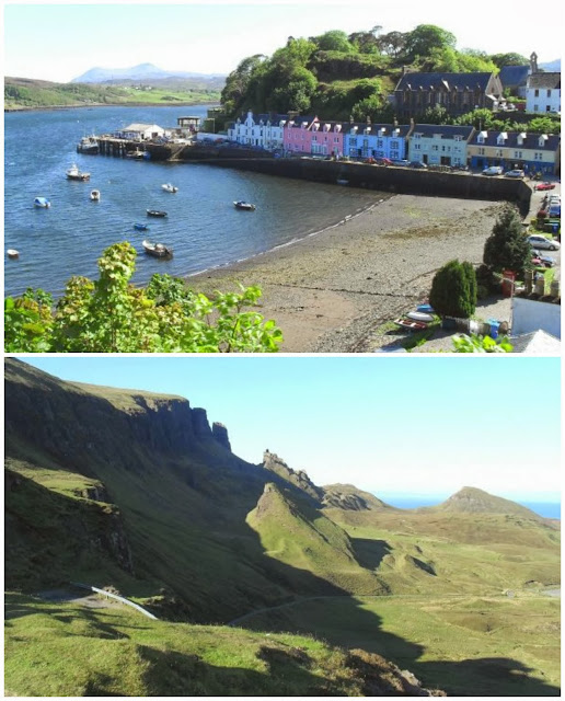 Portree, Isle of Skye - the Quiraing, Isle of Skye