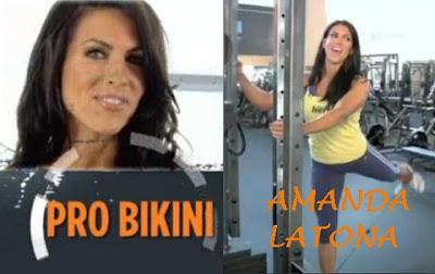 Amanda Latona workout for muscles of glutes Exercises