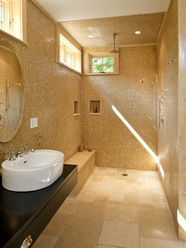 helen davies interior designer creating a wet room
