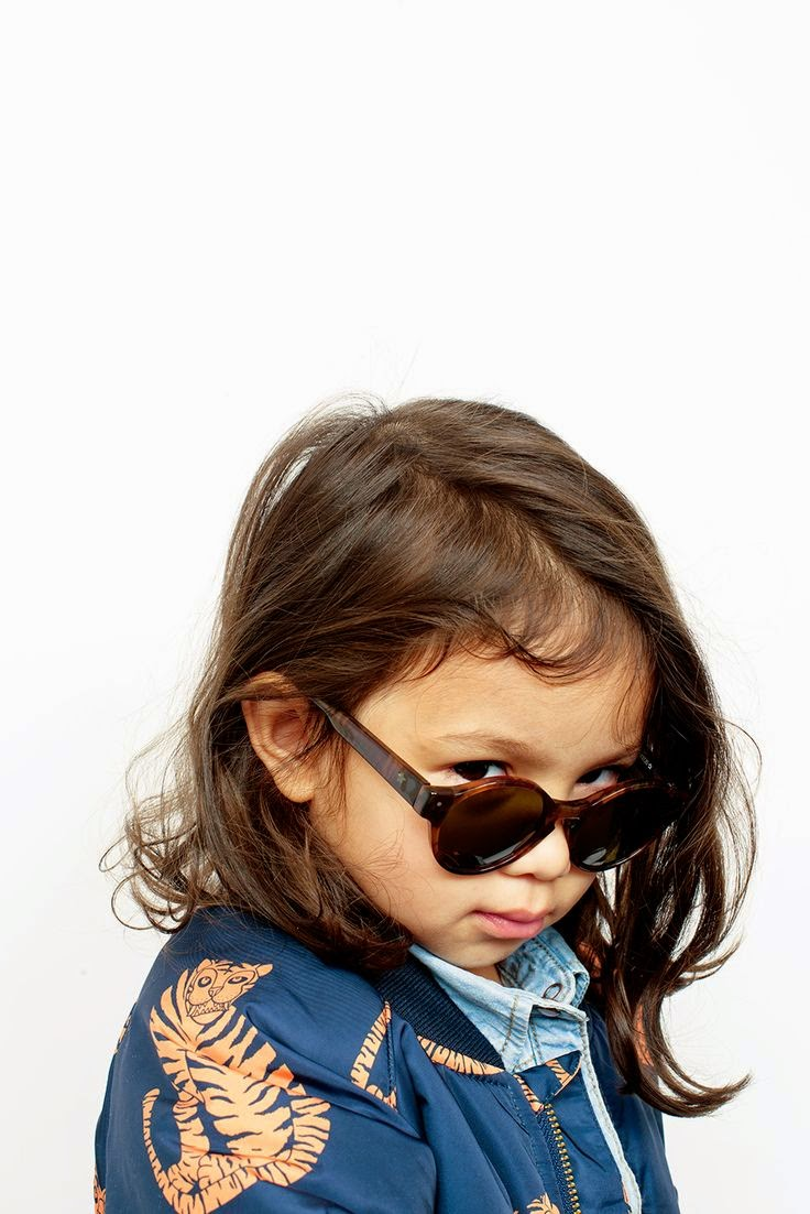 Kids sunglasses by Very French Gangsters and Mini Rodini Jacket - Autumn-Winter 2014/15