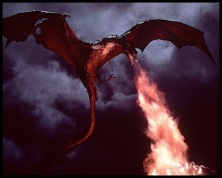 Efectos especiales de El dragón del lago de fuego