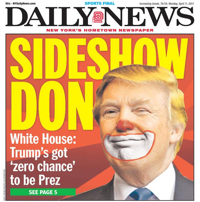 Trump as a Clown Pic