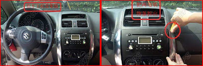 How to Remove Stereo from Suzuki SX4 and install it