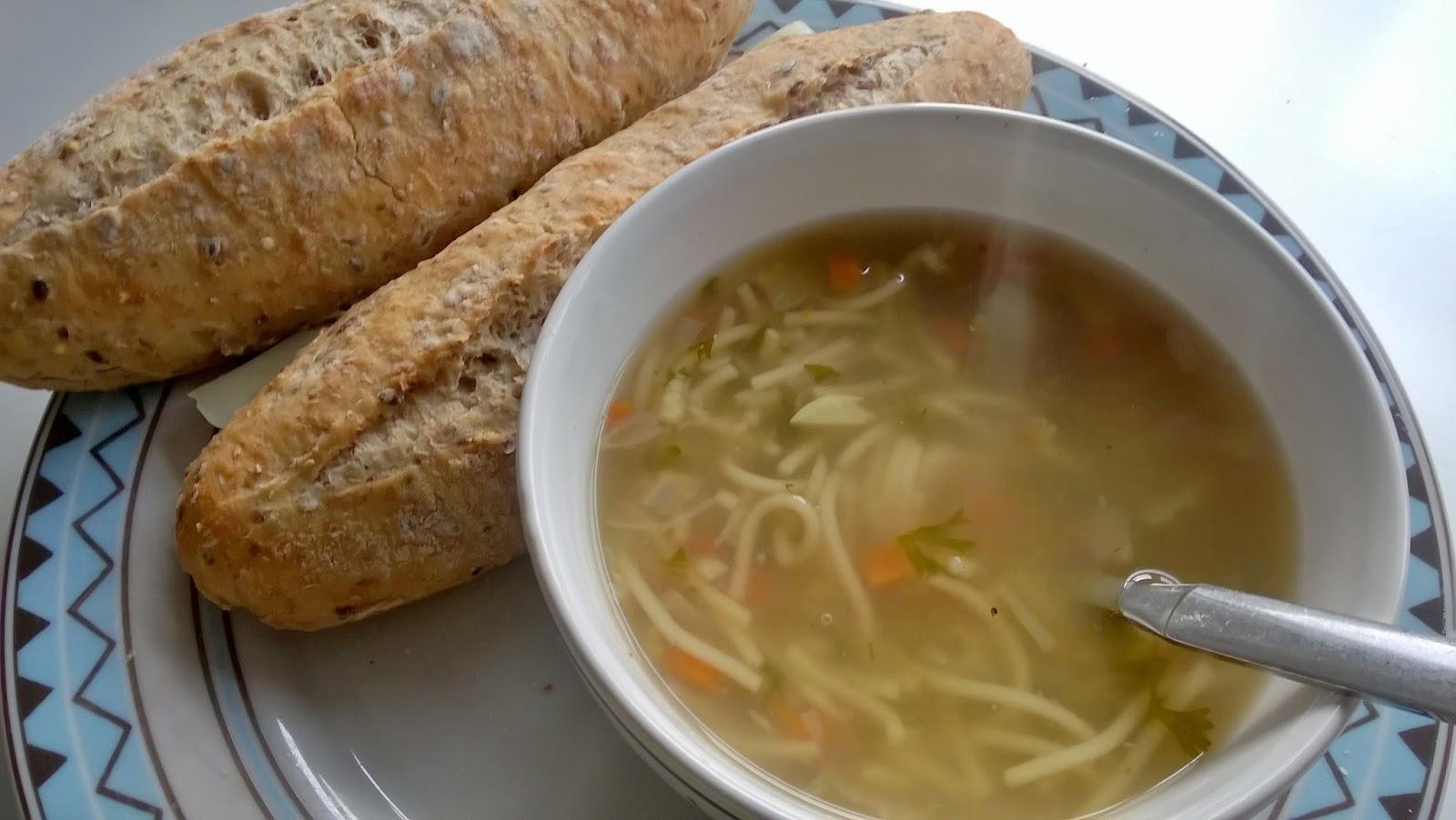 wat eten we bij de soep