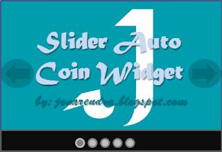 Cara Memasang Widget Auto Slide Coin Dengan Efek Transisi Thumbnail Jona Rendra
